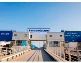 Dəniz daşımaları: Azərbaycan limanı