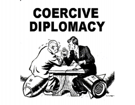 What is coercive diplomacy?