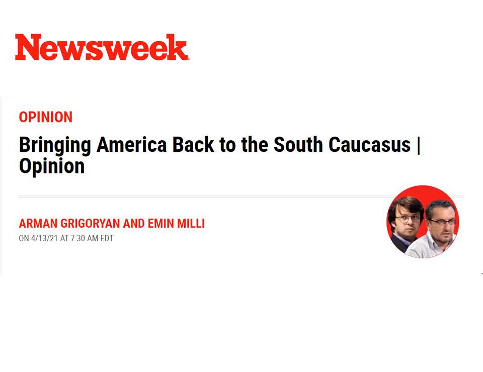 Bringing America Back to the South Caucasus